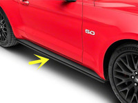 Side Skirt Body Pull Modified PP Material For Ford Mustang 2015 2016 2017 2018 2019