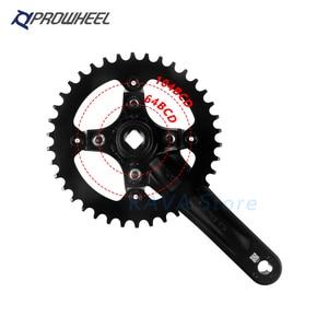 Image 3 - Prowheel Bicycle Crank Sprocket 104BCD MTB Bike Square Hole 170mm 175mm Crankset 32T 34T 36T 38T 40T 42T Narrow Wide Sprockets