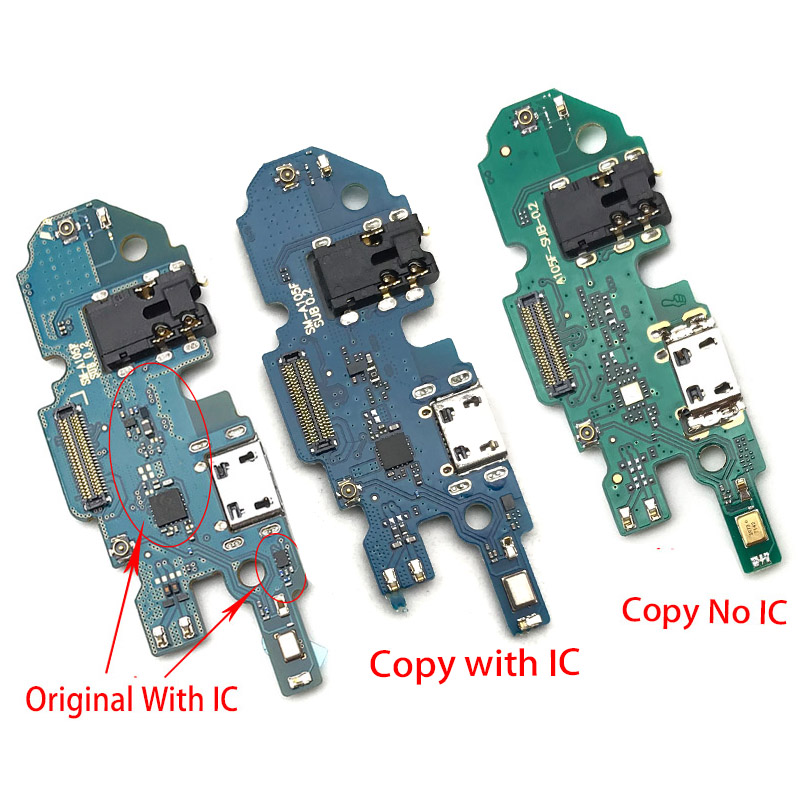 USB Power Charging Port Connector Plug Port Dock Flex Cable Mic Microphone Board For Samsung Galaxy A10 A105F A10S