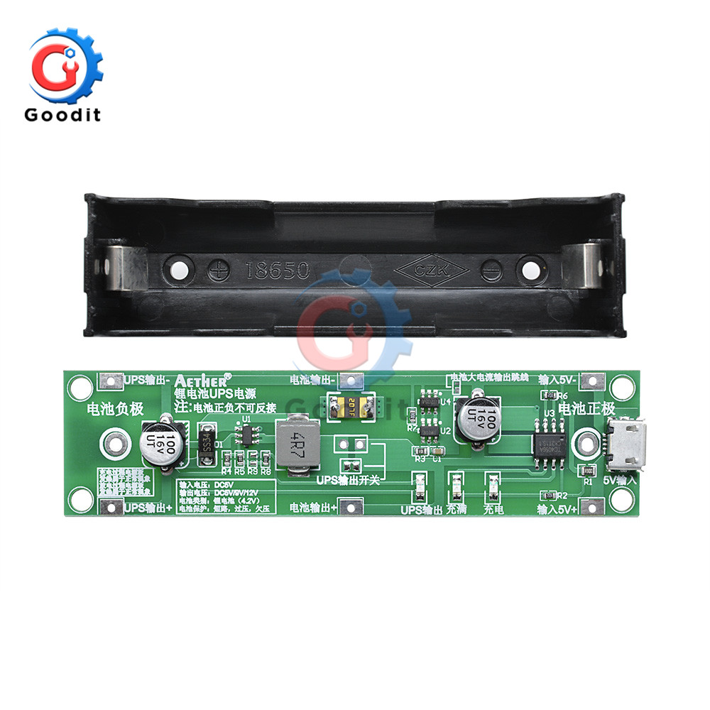 Knowledgeable 5v 18650 Lithium Battery Protection Board Battery Charging Boosting Integrated Ups Uninterrupted Power Supply Battery Board Famous For High Quality Raw Materials, Full Range Of Specifications And Sizes, And Great Variety Of Designs And Color