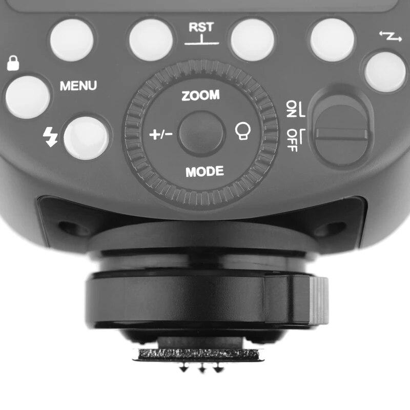 Круглая вспышка Godox V1 V1C V1N V1S V1F V1O V1P TTL для камеры