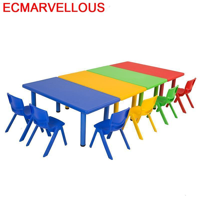 Avec Chaise Tavolo Bambini Stolik Dla Dzieci Cocuk Masasi Kindergarten Enfant Study For Kids Mesa Infantil Children Table