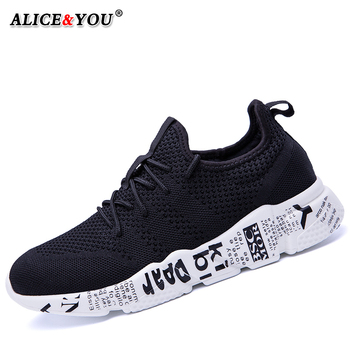 Casual Shoes Men Sneakers Comfortable Fashion Mesh Outdoor Walking Jogging Shoes New Lace-up Flat Male Footwear Zapatos Hombre