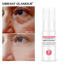 Vibrante glamour soro proteína anti rugas rosto soro colágeno branqueamento hidratante essência anti alergia máscara toner encolher poro