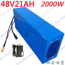 High Power 2000W 48V 20AH Electric Bike Battery 48V 20AH E-bike Battery 48 Volt Lithium Battery with 50A BMS 2A Charger Free Tax(China)