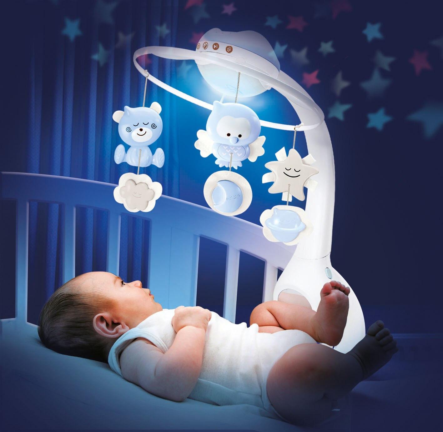 In America Infantino Infantile star Proiezione Tre in One Dreamy Letto Campana Carillon Campana Pacificare Lampada di Proiezione di Sonno - 2