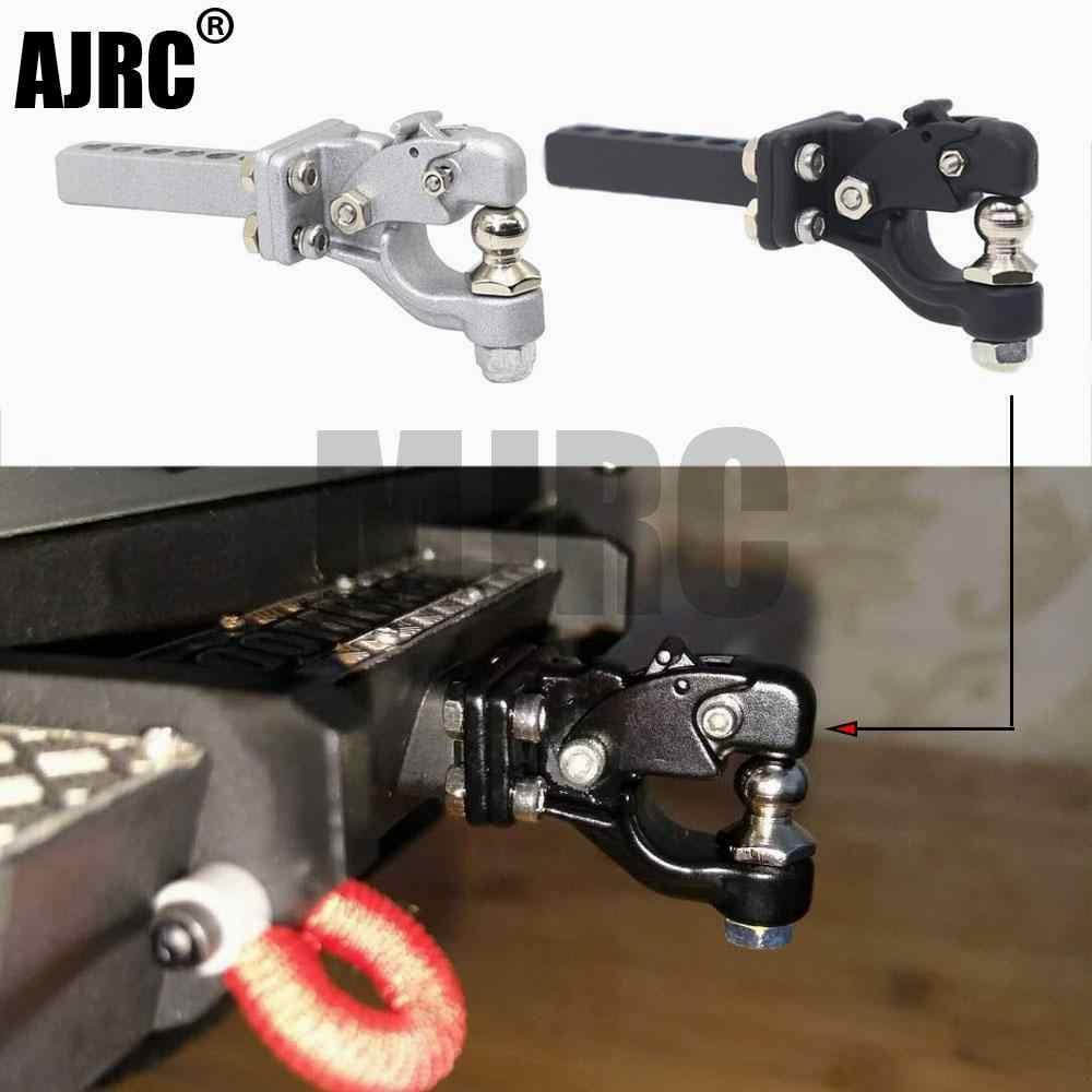 Metall RC Anhängerkupplung Empfänger Anhänger für 1:10 Axial SCX10 90046