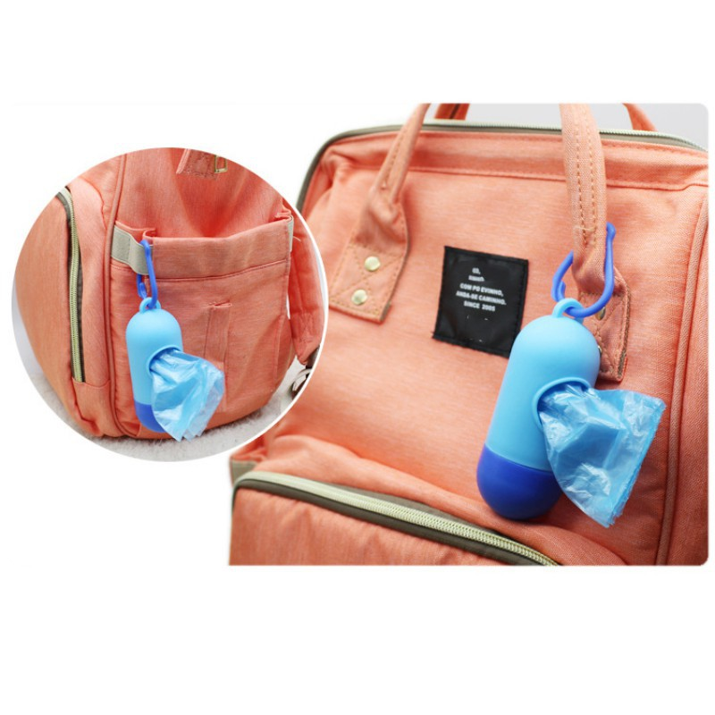 Hilittlekids портативные подгузники заброшенные мешки для мусора сумки съемная коробка пеленки сумка для ухода за ребенком инструмент