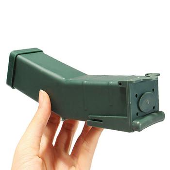 Pułapka na myszy pudełko na przynęty narzędzie do kontroli zwierząt dom ogród pułapka na mysz klatka dom ogród pułapka na myszy narzędzie tanie i dobre opinie CN (pochodzenie) MICE 464289 Mice Traps Mousetrap dark green
