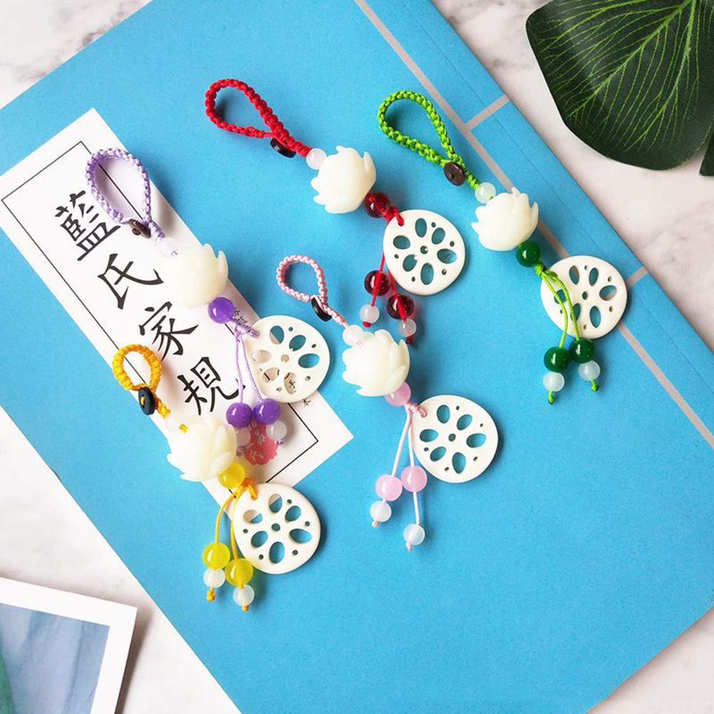 2019 NEW Mo Dao Zu Shi Chen Qing Ling Tassel Pendant Props Car Keychain Pendant Handbag Key Ring Anime Cosplay Accessories
