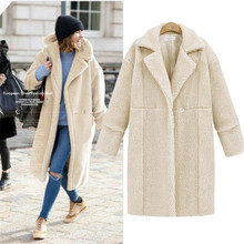 Big Size 4xl High Quality Elegant Wool Blend Coat Spring Winter Cashmere Coat Overcoat Women Solid Covered Warm Woolen Coat