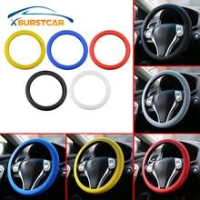 цена на Car Silicone Steering Wheel Glove Cover for Ford Focus 2 3 4 Kuga Escape Everest Explorer Ka Ranger Mondeo Fiesta Ecosport