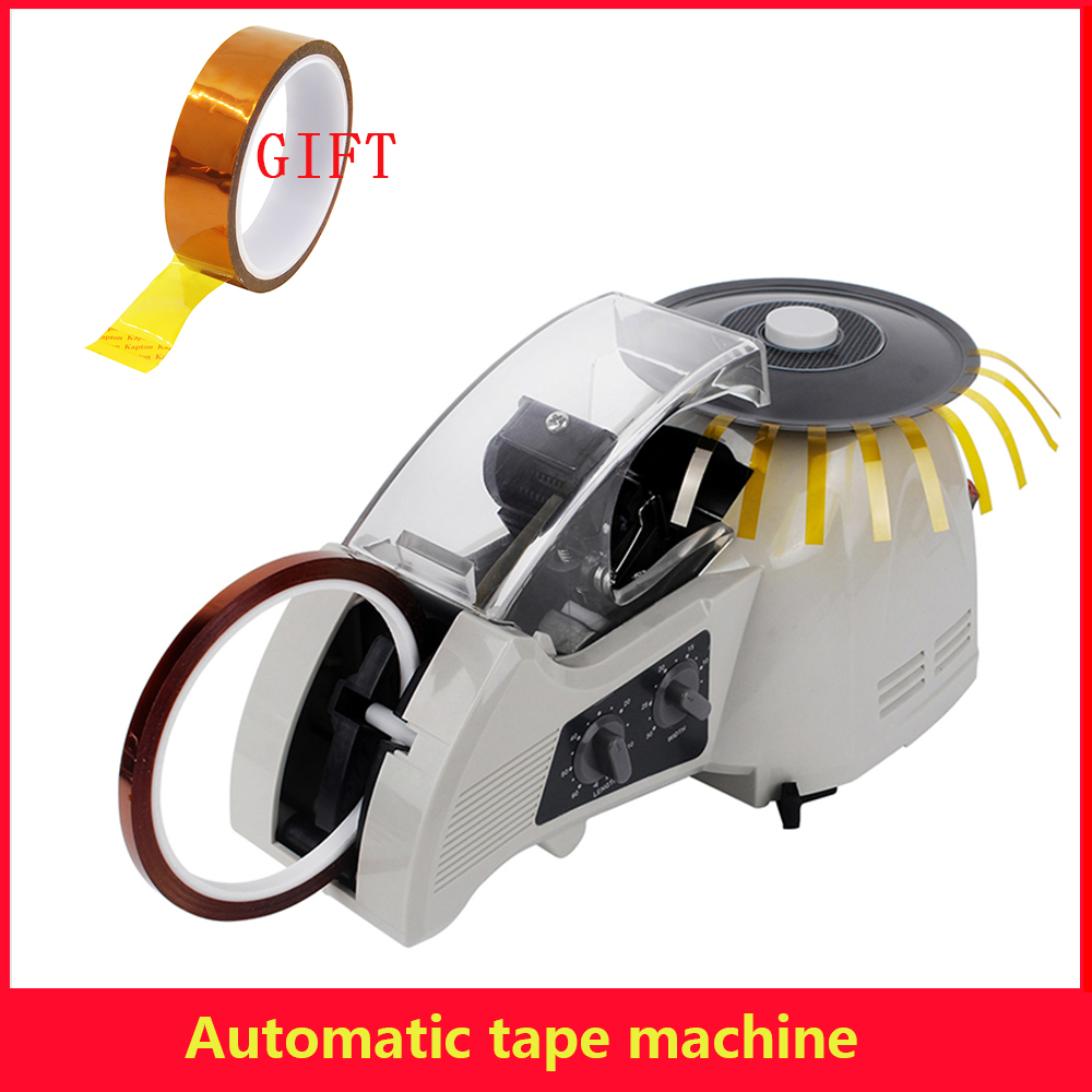 ZCUT-8 Automatic tape dispenser Tool home office Equipment microcomputer intelligent large auto tape cutter tape cutting machine