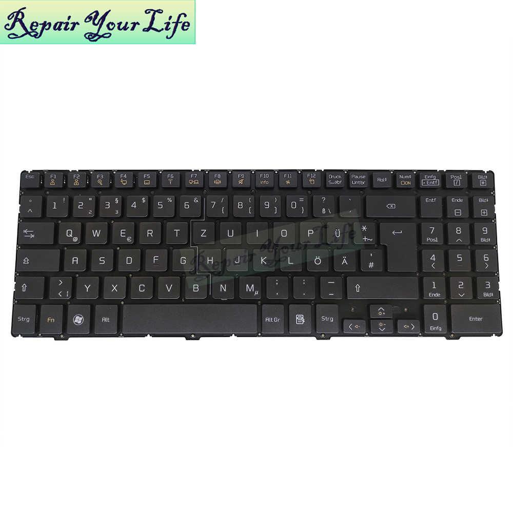 GR Сменные клавиатуры для LG QLM P510 P530 A530 GE Германия черная клавиатура для ноутбука AEQLMG00010 запасные части для ноутбука хорошее качество Новинка