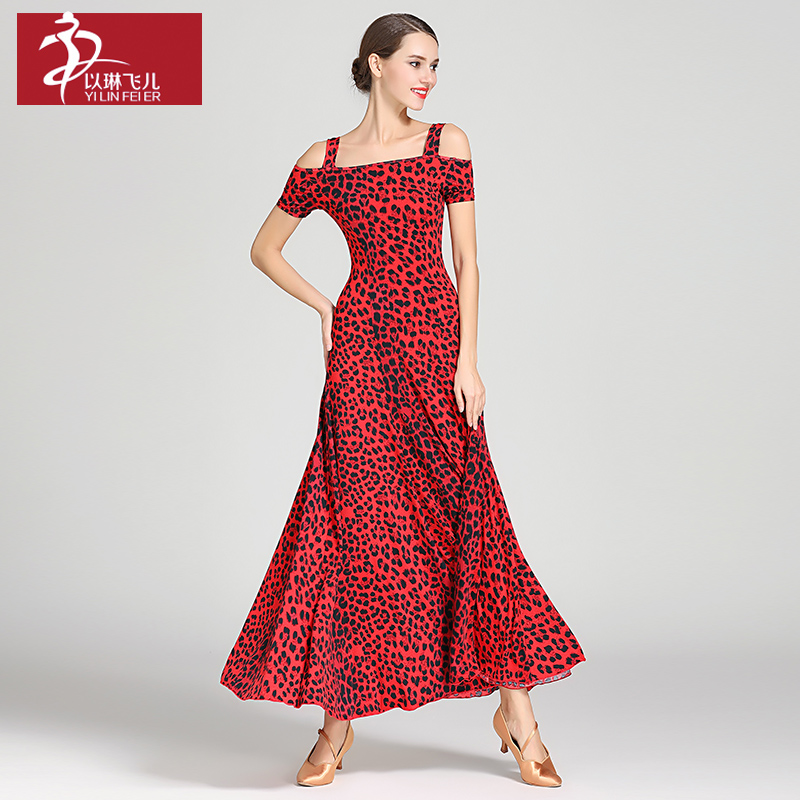 New ballroom dance competition dress dance ballroom waltz dresses standard dance dress women ballroom dress 9040