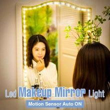 Светодиодный зеркало светильник Сенсор макияж лампа светодиодный