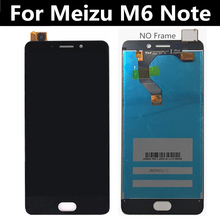 5.5 inch FOR Meizu M6 Note LCD Display+Touch Screen Assembly Replacement for Meizu Meilan Note 6 LCD Display