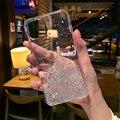 Чехол для телефона с блестками для iPhone 12 11 Pro Max XS Max XR X 12 Mini 7 8 6s 6 Plus SE2020, прозрачный градиентный чехол, силиконовый чехол