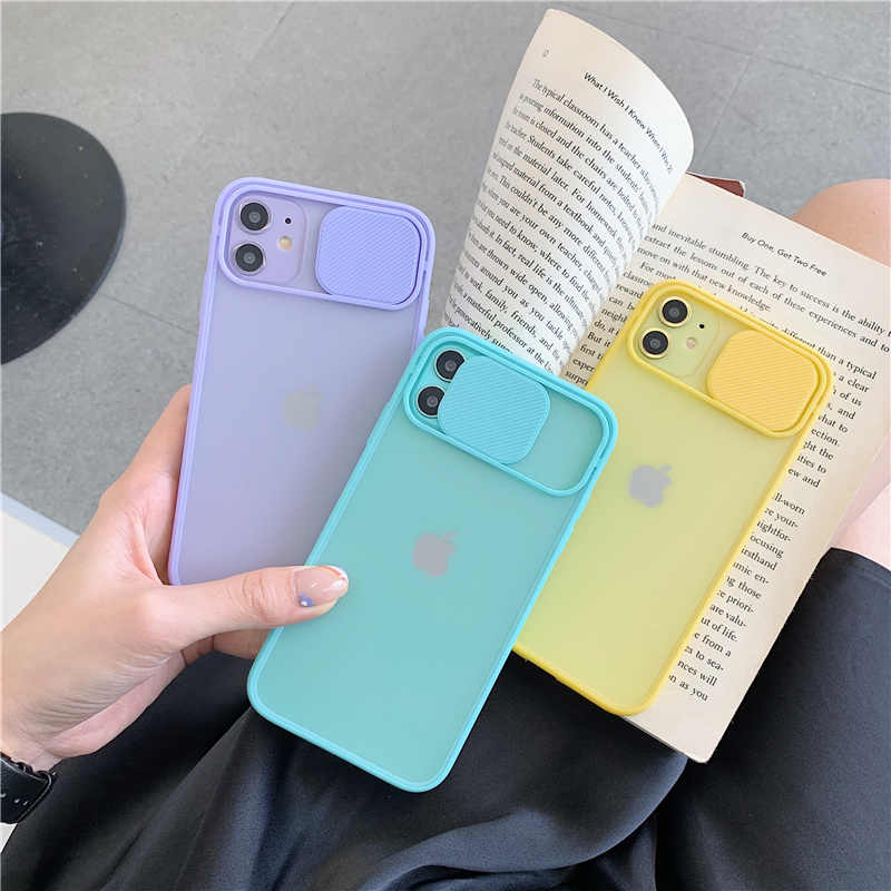 Camera Bescherming Shockproof Phone Case Voor Iphone 11 Pro Max 8 7 6 6S Plus Xr X Xs Max se 2020 Case Soft Silicone Back Cover