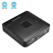 BESDER H.264 4CH/8CH 1080P NVR Onvif P2P wysokiej rozdzielczości Mini 1080P Full HD 4CH 8CH sieciowy rejestrator wideo NVR dla kamery IP