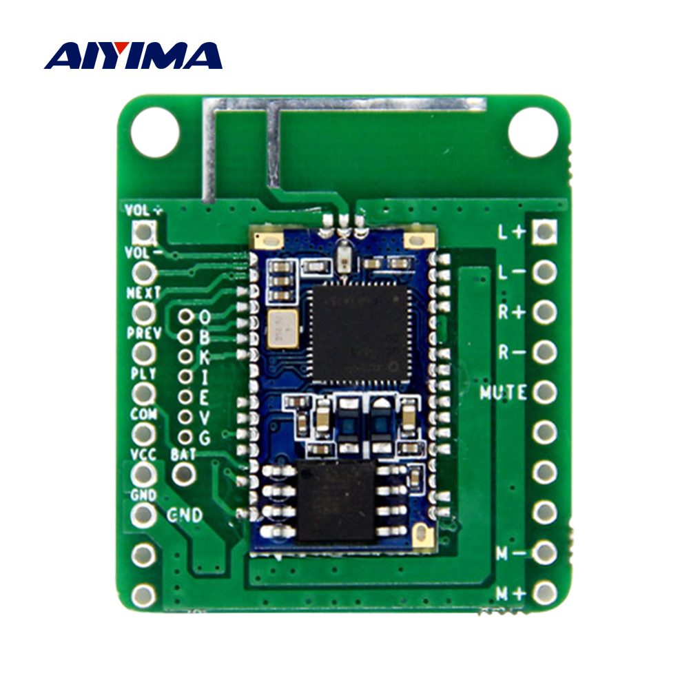 AIYIMA Bluetooth <font><b>Amplifier</b></font> Audio Board <font><b>2x3W</b></font> Stereo Amp QCC3003 Bluetooth 5.0 Receiver DIY Speaker Home Sound Theater image