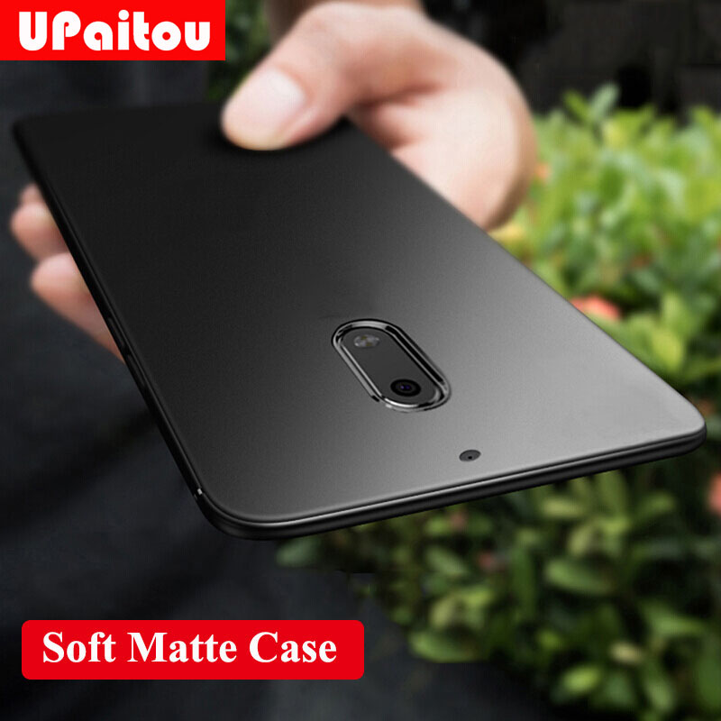 UPaitou Case For Nokia 2.1 3.1 5.1 6.1 7.1 8.1 X6 X7 7 Plus 8 2018 Sirocco Case Soft Silicone Matte Ultra Thin TPU Back Cover