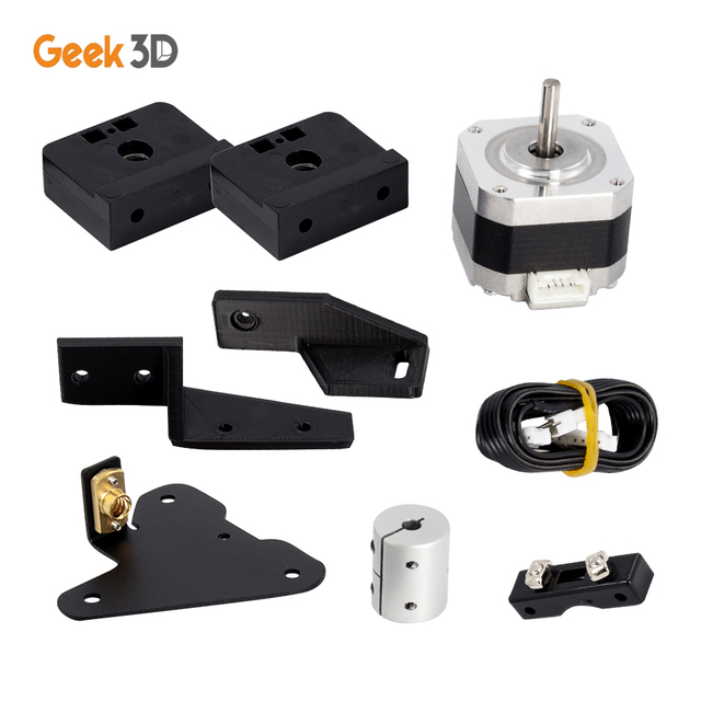 Dual Z Axis Lead Screw Upgrade Kits for Creality CR10 Ender3 Pro 3D Printer Accessories impressora 3d ender 3 pro dual z axis 4