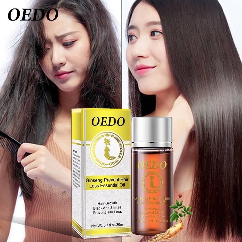 20ML Ginseng Hair Growth Essence Preventing Hair Loss Liquid Damage Hair Repair Treatment Dense Fast Restoration Hair Growth 2