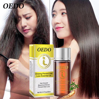 20ML Ginseng Hair Growth Essence Preventing Hair Loss Liquid Damage Hair Repair Treatment Dense Fast Restoration Hair Growth Beauty Tools