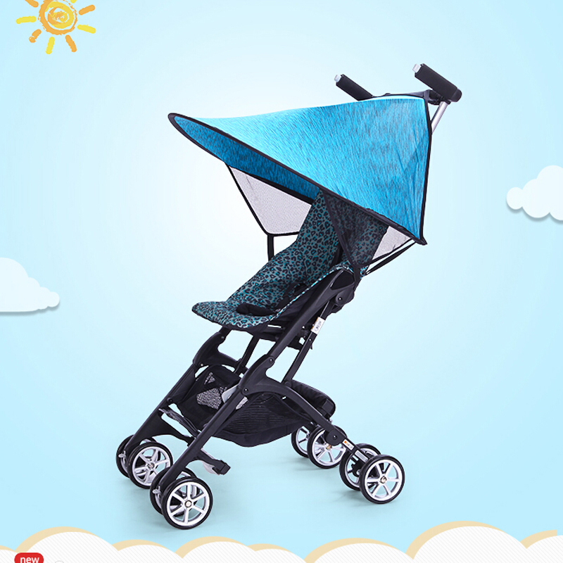 Baby Stroller Rain Cover Universal PVC Windproof Dustproof Shield With Windows Infant Toddler Pushchairs Stroller Accessories