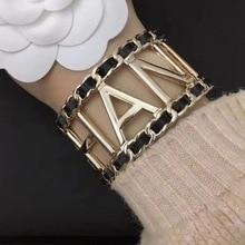 C Bangles Bracelet C-Cuff Trendy Jewelry Letter Women New-Fashion David Classic for Zhang