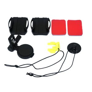 Image 2 - 소니 VCT HSM1 HDR AS50R AS30V AS200V AS100V AS10 AS300 AZ1VR FDR 액션 용 1Set 조절 식 곡선 접착 헬멧 사이드 마운트