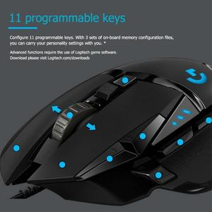 Image 4 - Logitech Original Mouse G502/G102 Programmable High Performance Gaming Mouse Engine with 16,000 DPI Programmable   Tunable for M