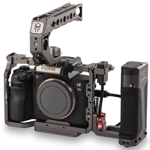 Image 4 - Tilta A7 A9 Full Cage Rig Kit TA T17 A G focus handle For Sony A7II A7III A7S A7S II A7R II A7R IV A9 Rig Cage