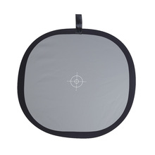 """60cm / 24"""" Foldable Grey/White Balance 18% Grey Gray Reference Reflector Card with Carrying Bag"""