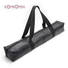 BDSM Games Large Capacity PU Leather Sex Bondage Toy,Zippered Storage Bag,Can St