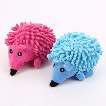Интерактивная бархатная форма ежа для домашних животных игрушка