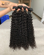 Doozy Hair Brazilian Virgin Hair Deep Curly 4 Bundles Human hair(China)