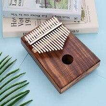 Thumb-Piano Hammer Stickers Mbira Musical-Scale Kalimba Tuning Solid-Wood 17-Keys Nalu