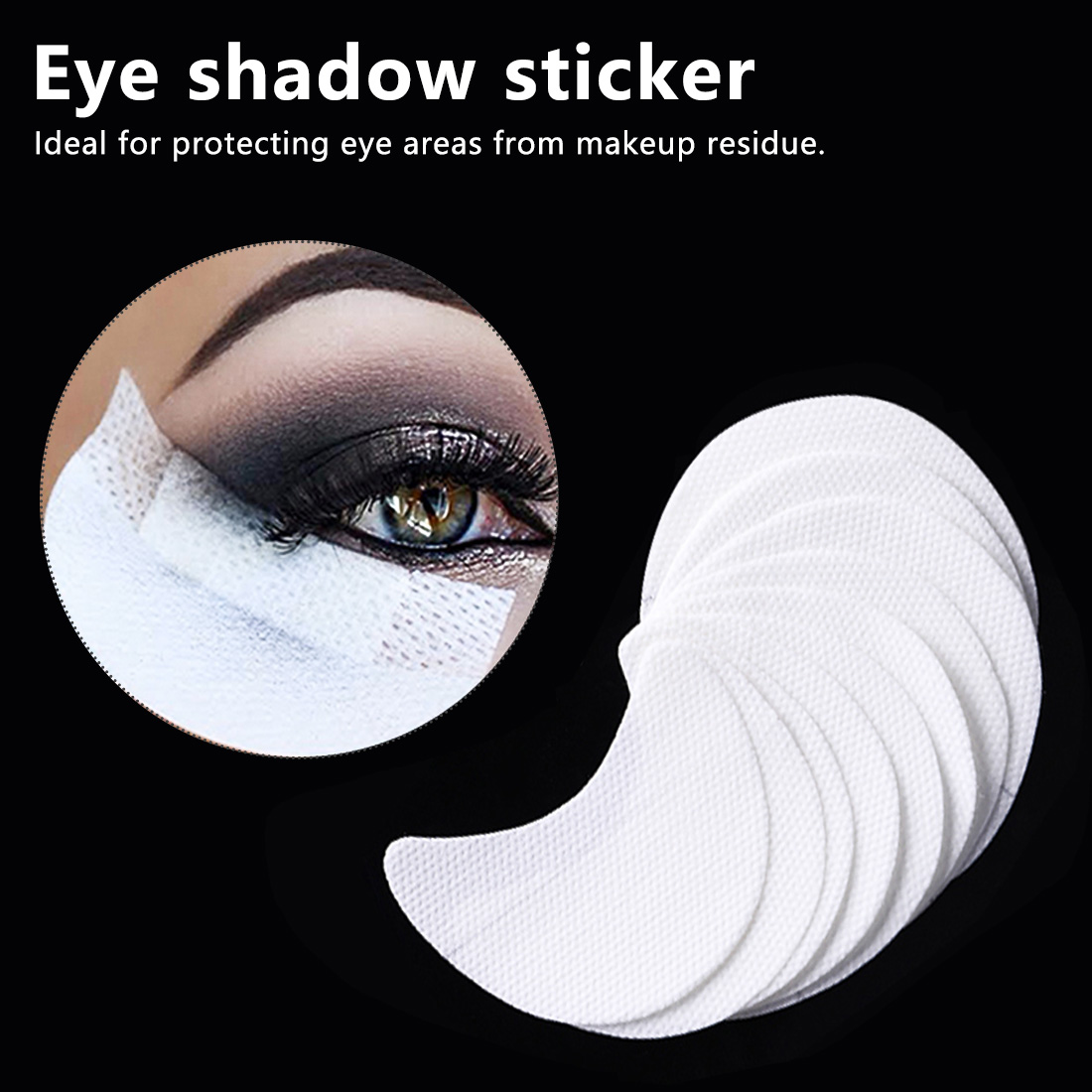 Makeup Tools 20 Pcs Skill Stickers High Quality Paper Patch Eyelashes Extension Eye Sticker Makeup Tools