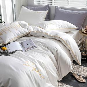 Image 4 - Svetanya ägyptischer Baumwolle Bettwäsche Set könig königin doppelte größe wohnung ausgestattet Blatt Bettwäsche