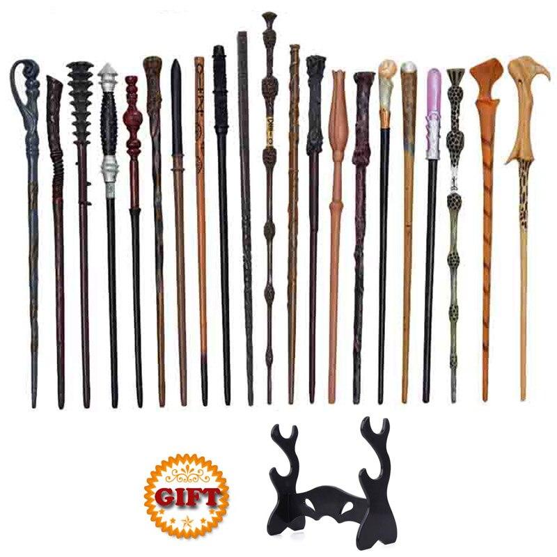 28 видов металлическим сердечником волшебные палочки с подставка для палочек Voldmort Гермиона Снейп волшебную Косплэй Гарри Поттер Magic товар о...