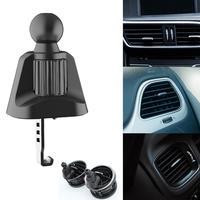 Universal coche/C/Clip de rejilla de ventilación del coche soporte para teléfono móvil accesorios gancho 17mm bola soporte para soporte de teléfono móvil para coche Clip
