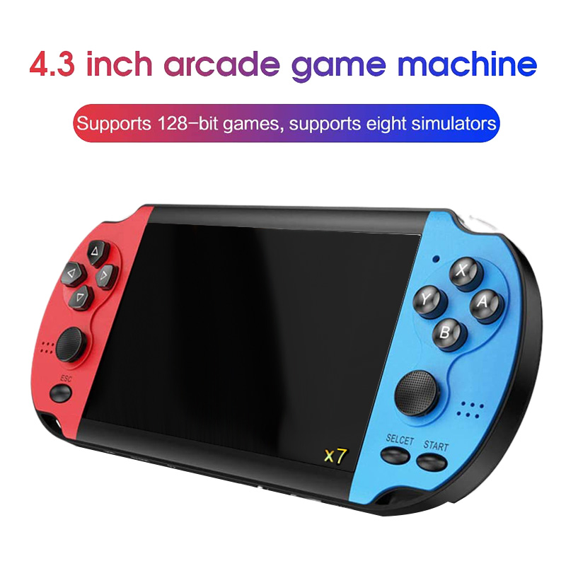 cheapest A12 9 Inch Nostalgic Game Console Video Game Console Joystick Arcade A7 Architecture Quad-Core Cpu Simulator Game  32G