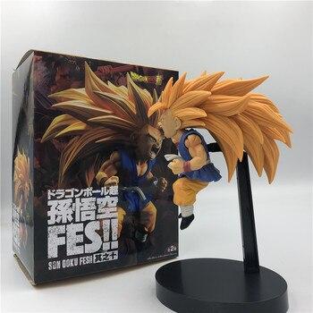 Figura de Son Goku modo niño en Super Saiyan 3 de Dragon Ball GT (20cm) Figuras Merchandising de Dragon Ball