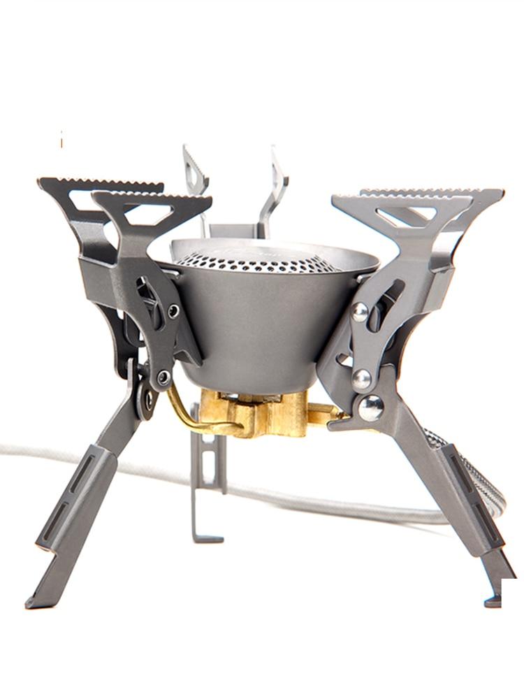 Camping Stoves Burners Foldable Fire-Maple Outdoor Titanium Ultralight Split FMS-100T