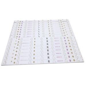 Image 2 - 100% Nouveau 16 pièces/ensemble LED bande de rétro éclairage Tableau pour tx 55dx600e TB5509M M30900 16V0 E74739 EX 55S0VE04 2Z543 0 I 631 0489 1