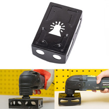 Square Slot Cutter Slotter with Four Blades Multifunctional Tool Woodworking Slotting Cutter Rack Accessories