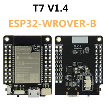 T7 V1.4 Mini32 لوح تمديد ESP32 WROVER B 4MB فلاش 8Mb PSRAM واي فاي وحدة بلوتوث مجلس التنمية