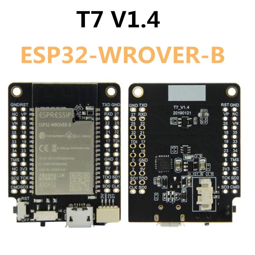 T7 V1 4 Mini32 Expansion Board ESP32-WROVER-B 4MB flash 8Mb PSRAM Wi-Fi Bluetooth Module Development Board